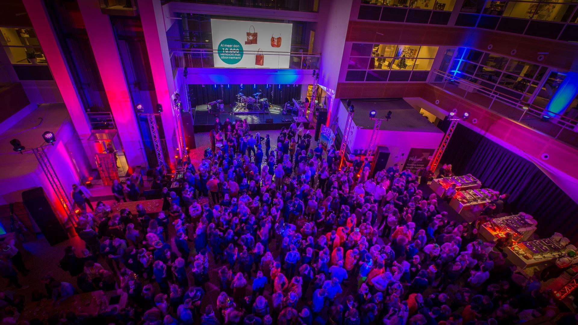 Audiovisuele techniek voor corporate events