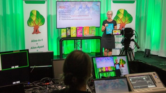 Livestream studio - Webinar met Q&A
